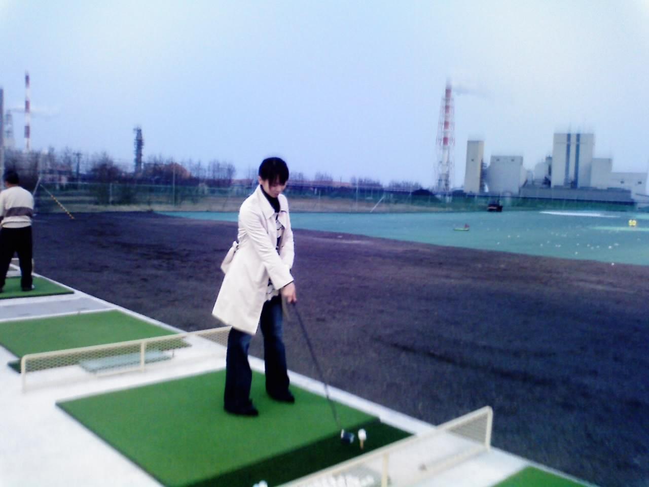 初ゴルフ!